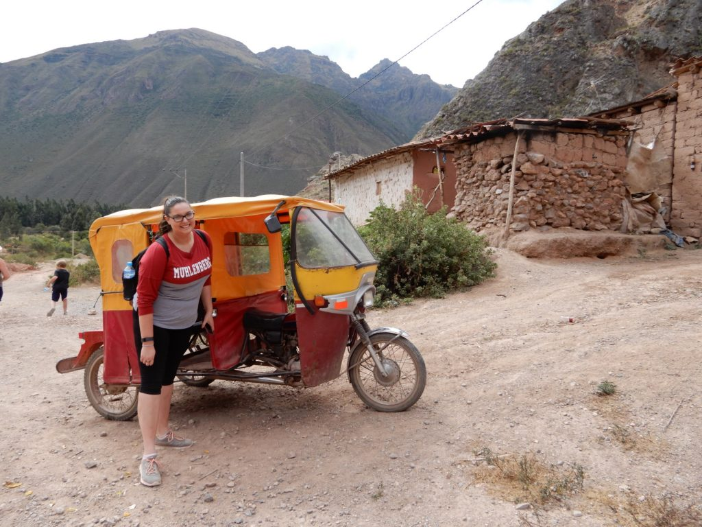 Tuk Tuk are plentiful in Peru