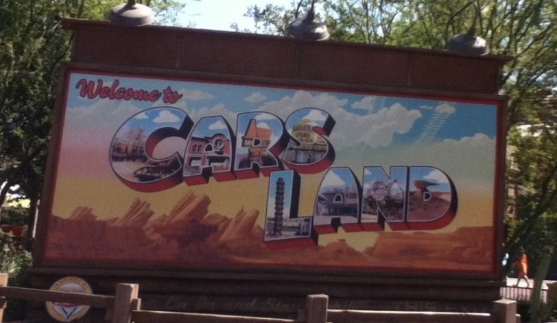 Welcome to Cars Land