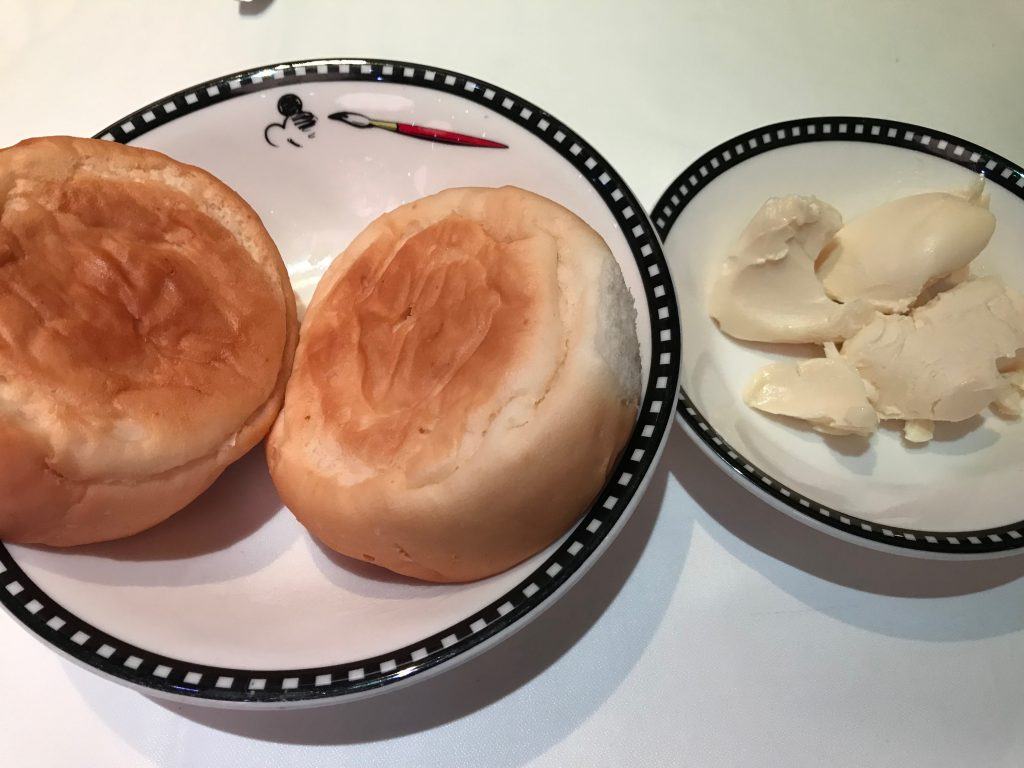 Gluten free rolls with dairy free butter!