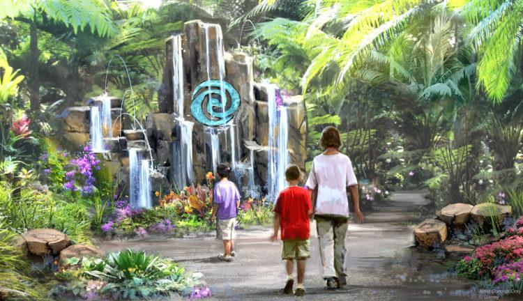 Artist rendering of Waterscape
