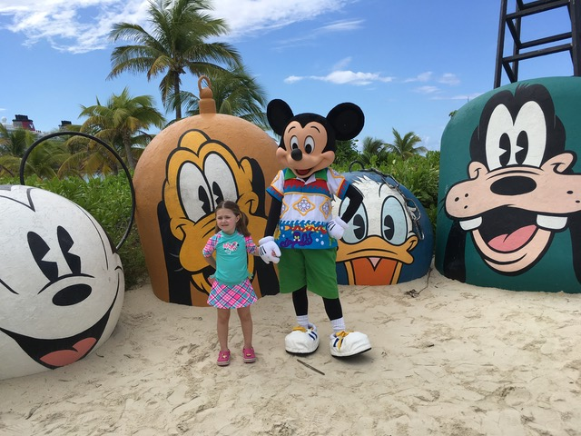 Beach Wear Mickey with The Shirley Family