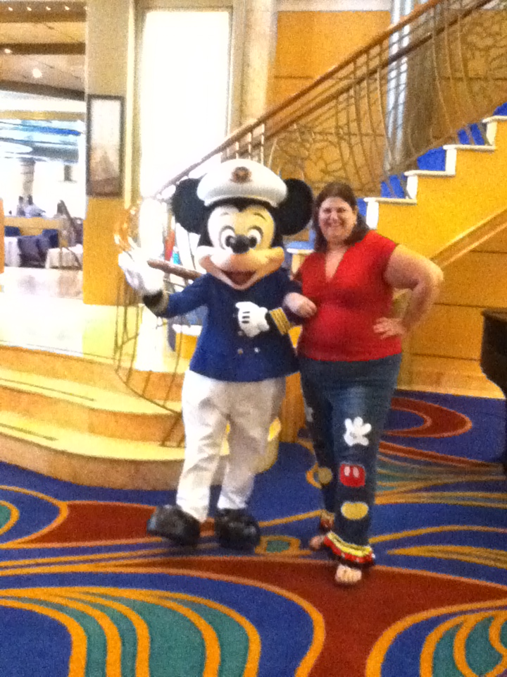 Captain Mickey with Sandy