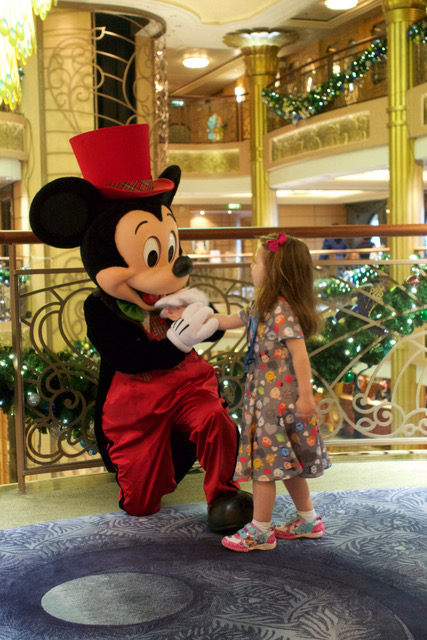 Christmas Formal Mickey with The Shirley Family