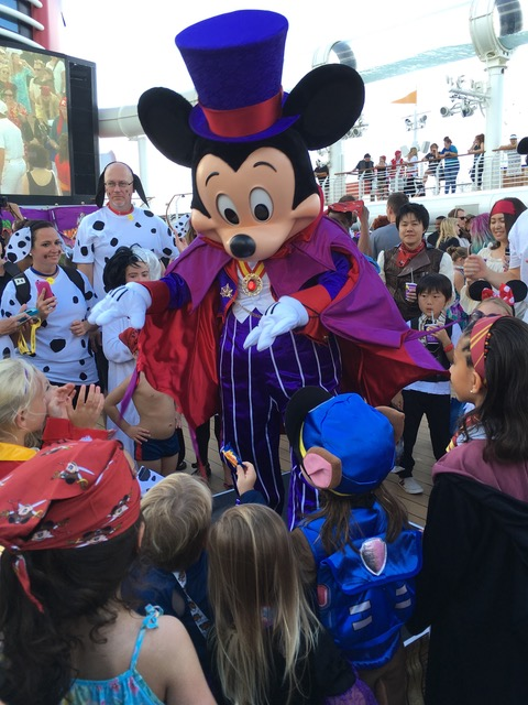 Halloween at the High Seas Mickey