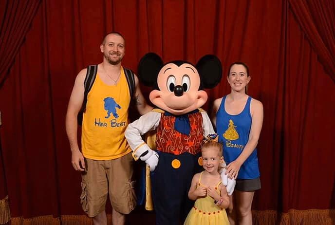 Magician Mickey with The Bisson Family