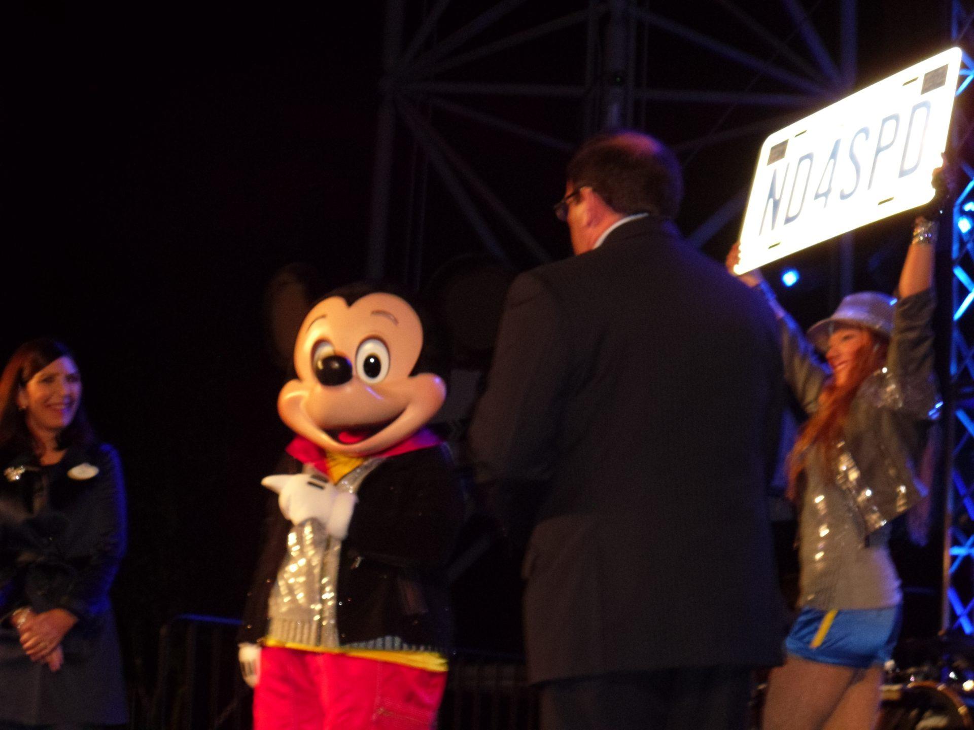 Test Track Mickey