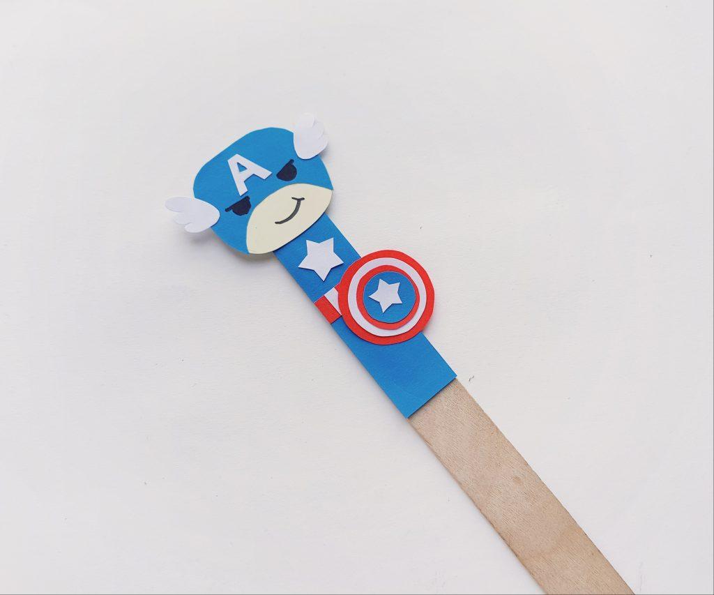 Make Avengers Finger Puppet Craft
