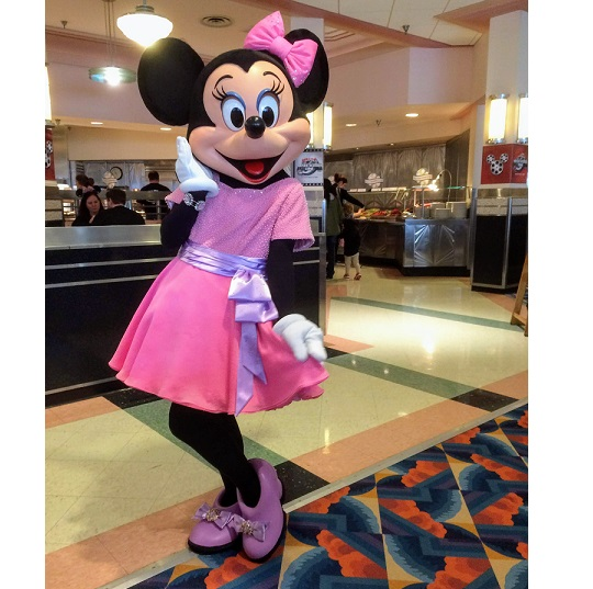Silver Screen Minnie Mouse