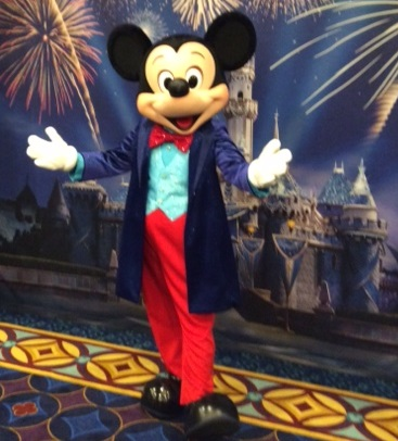 Disneyland 60th Birthday Mickey Mouse