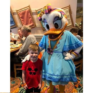 Beach Wear Daisy Duck with Laken