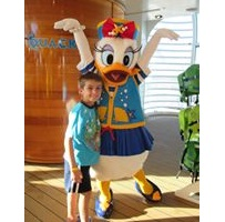 Cruise Line Daisy Duck with Kevin B