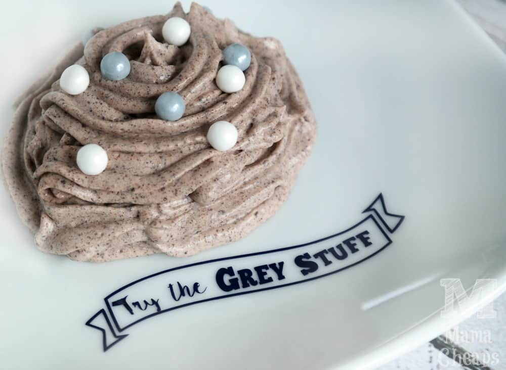 Grey Stuff Dessert from Be Our Guest