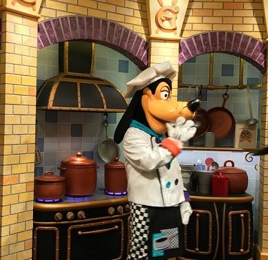 Chef Goofy