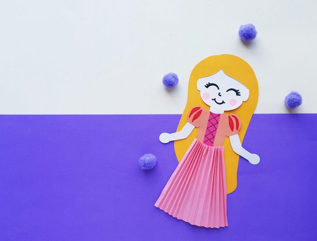 Princess Rapunzel Paper Craft