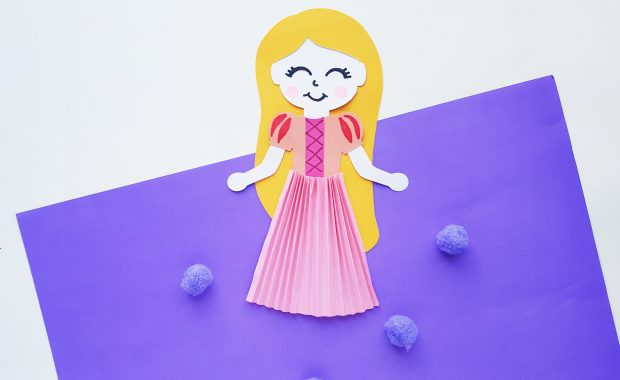 Princess Rapunzel Paper Craft