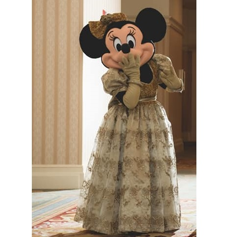 Gold Formal Wear Minnie