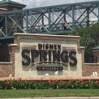 Disney Springs Welcome Sign