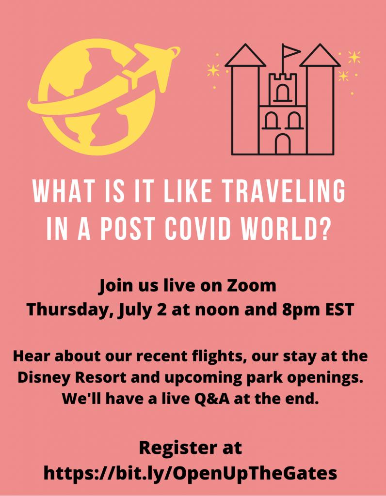 Post Covid Webinar Invitation
